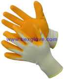 Gant de jardin de latex, gant de travail