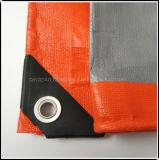 PE tissé bâche plastique imperméable pour voiture