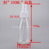100ml Pet Lettering Spray Bottle/Cosmetic Packing /Perfume Spray Bottle