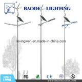 40W con la iluminación solar híbrida de poste de la calle del viento (BDSW998)