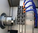 CNC2525-60 선형 가이드 방법 기우는 침대 CNC 선반 기계