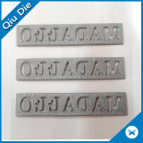 Étiquette en caoutchouc de T-shirt de transfert thermique d'impression de la coutume 3D de silicones