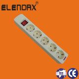 Toma de extensión, sobrecarga de tensión de proteger, indican, los niños Proteger, el doble de toma de USB (E2205S)