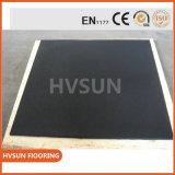 Piattaforma di pavimentazione di gomma diplomata Blocks/En1177 esterna del tetto di sicurezza della gomma di sicurezza di Hvsun