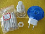 Комплект репеллента москита электрического керамического топления фитиля жидкостный