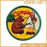 Twill Embroiderey Patches for Clothing (YB-e-032)