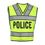 Het in het groot Weerspiegelende Vest Van uitstekende kwaliteit van de Politie van het Verkeer
