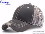 Gorra de béisbol de cuero de encargo del borde