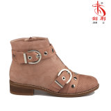 Schuhe der Dame-Buckle Sexy PU Women mit Knöchel-Aufladungen (AB649)
