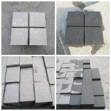 Pietra per lastricati del granito nero da Hebei