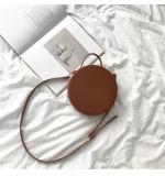 Sacchetti di cuoio promozionali dell'unità di elaborazione del sacchetto della signora di sacchetto delle signore delle borse dello stilista del sacchetto rotondo delle donne mano (WDL0364)