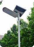 60W zonneStraatlantaarns voor de Verlichting van het Platteland met APP van de Telefoon het Systeem van de Inductie van het Controlemechanisme (snf-260)