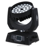 Testa mobile dello zoom LED di grado 36PC 18W 6in1 dello zoom 10-60