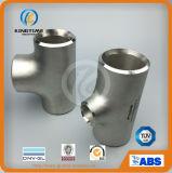 En t de acero inoxidable de Wp316/316L Adaptador de tubería en ASME B16.9 (KT0036)