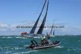 Aqualand 18feet 5.4m steifes aufblasbares Bewegungsboots-/-fiberglas-Rippen-Fischerboot (RIB535B)