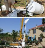 Dg-Ec-10kw Alternador de Íman Permanente Lâminas de fibras de nylon reforçado Hawt Turbina Eólica