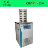 Máquina de liofilização de saída de fábrica com prateleira de aquecimento eléctrico