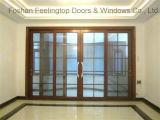 Дверь алюминиевого сплава порошка изоляции жары Coated нутряная (FT-D190)