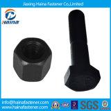 8.8 Catégorie Black Nuts - et - boulons, Élevé-force Black Nuts et Heavy Hex Bolts