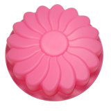Vollständiges Sales Kitchen Tool Flower Shape Silicone Cake Pan für Baking Cake Bread