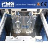 Pequeña máquina plástica del moldeo por insuflación de aire comprimido de la botella con el compresor de aire