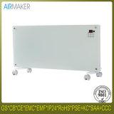 Moderando o calefator de gás natural interno do painel de vidro