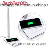 Chargeur de batterie de téléphone sans fil d'urgence avec aucune table de la lampe stroboscopique