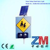 Энергосберегающий солнечный дорожный знак/предупредительный знак знака уличного движения/СИД