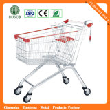Magasin de métaux Supermarket Shopping Trolley Cart
