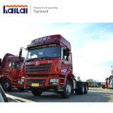 中国の有名なトラック6X4 Shacmanのトラクターのトラック