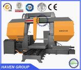 二重コラムの水平の鋸引き機械