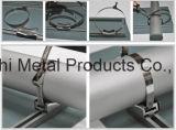 Embalagem de metal que prende com correias o aço de faixa