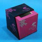 Boîte de tissus de soie carré en acrylique