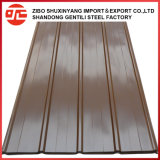 Hoja de Metal corrugado/placa de impermeabilización de cubiertas de acero hierro esmaltada