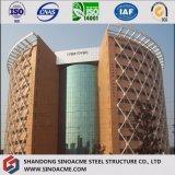 Ce сертифицирована Сборные стальные конструкции Multi - этажное здание гостиницы