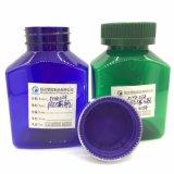 Frasco Shaped de Rectagular do frasco do empacotamento plástico do produto dos cuidados médicos do animal de estimação 150cc com produto comestível
