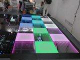 Más reciente Segundo para instalar la pista de baile de LED magnético inalámbrico