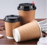 Het Drinken van kraftpapier de Hete Koppen van het Document van de Koffie