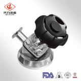 Válvula de diafragma de saneamiento para la farmacia de acero inoxidable