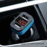 Hotsell 2 puertos USB Cargador de Coche 12V Cargador de coche Cargador de coche de carga rápida