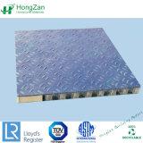 Painel de favo de fibra de vidro para tecto, parede lateral