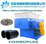 플라스틱 재생 기계 또는 플라스틱 제림기 또는 단 하나 샤프트 슈레더 또는 큰 큰 HDPE PVC 관 쇄석기