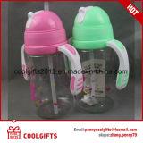 Bébé écologique Sippy Cup les enfants boivent de l'eau Bouteille en plastique avec poignée
