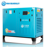 15HP 11kw 35% energiesparende Kinetik industrieller Oilless stationärer P.M. VSD Drehschrauben-Luftverdichter