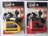 Bloqueo de disco de alta seguridad cerraduras de seguridad para moto o bicicleta bloquear