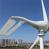 300W de Generator 12V AC van de wind met de Bladen van Controlemechanisme 3 of 5 van de Last MPPT voor de Verlichting van de Tuin van de Straatlantaarn of de Efficiency van het Gebruik van het Huis