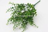 Fake hojas de eucalipto Planta artificial para la decoración del hogar