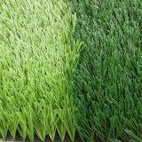 Tappeto erboso artificiale del campo di calcio dell'erba della Cina da vendere