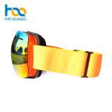 두 배 렌즈 겨울 스포츠 Eyewear에 의하여 색을 칠하는 디자이너 Anti-Fog 스기 프레임 유리