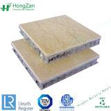 Panneaux d'Honeycomb de pierre pour mur rideau Revêtement de façade